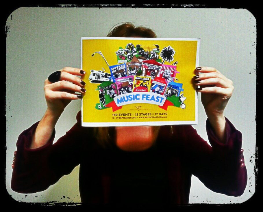 2013 Darebin Music Feast Program Cover