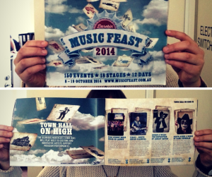 Darebin Music Feast Program 2014 Melbourne northside music
