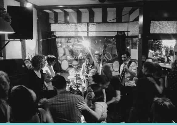 Georgia Brooks Swingtet – Swing Dance Party   DAREBIN MUSIC